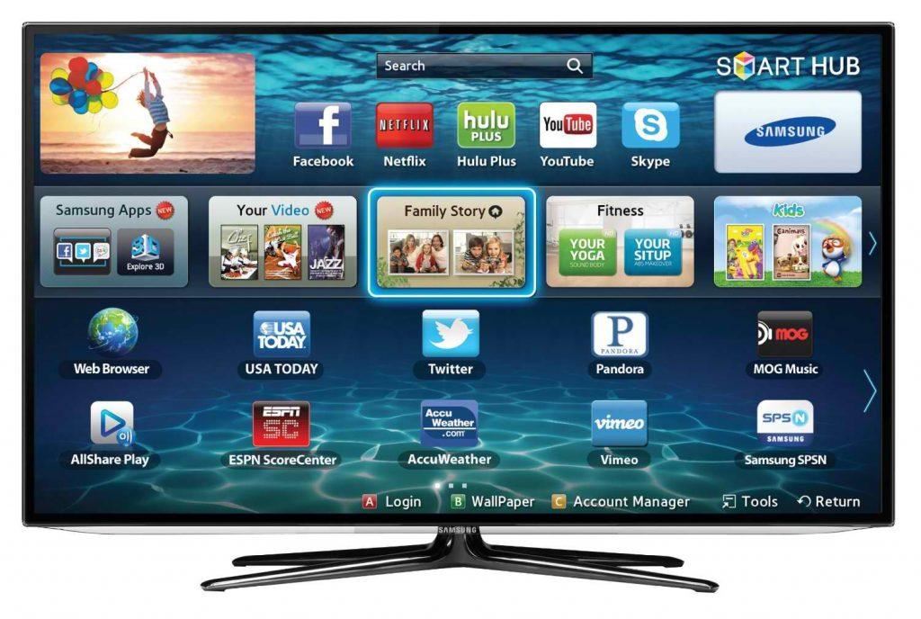 Chọn Smart TV, TV 3D hay TV màn hình cong