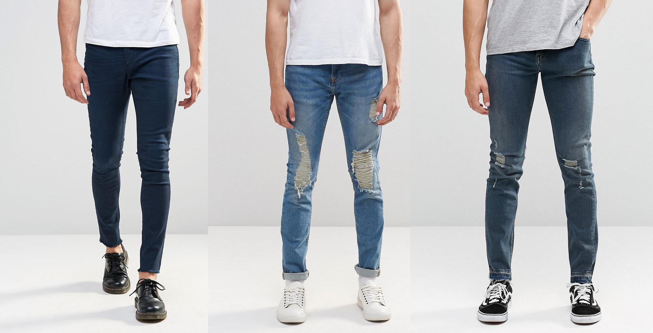 Kinh nghiệm chọn quần jean cho nam