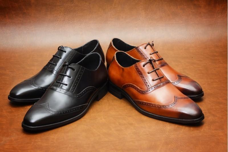 Chất liệu giày da nam