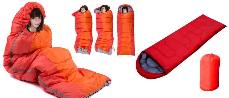 Túi ngủ chữ nhật không nón