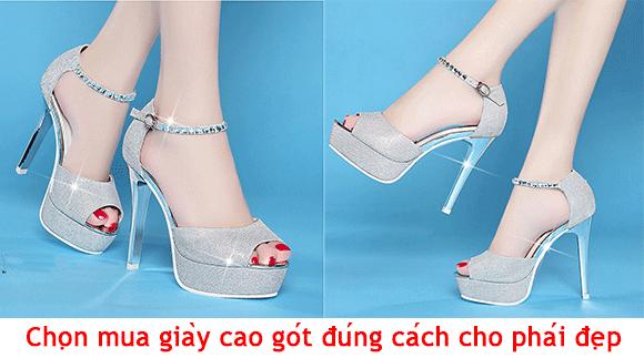 Những lưu ý khi chọn mua giày cao gót đúng cách 01