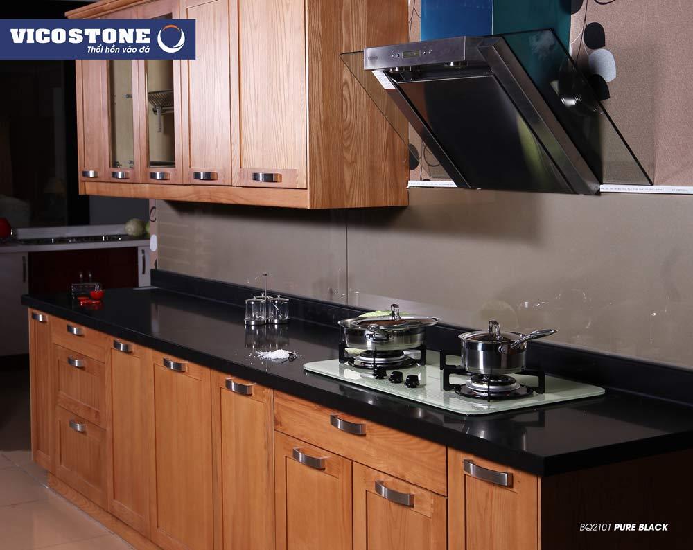 Mẫu đá VICOSTONE PURE BLACK BQ2101