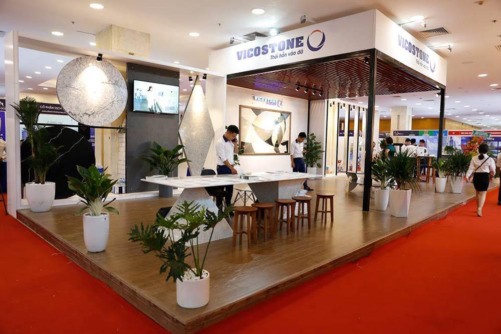 Showroom trưng bày sản phẩm đá VICOSTONE
