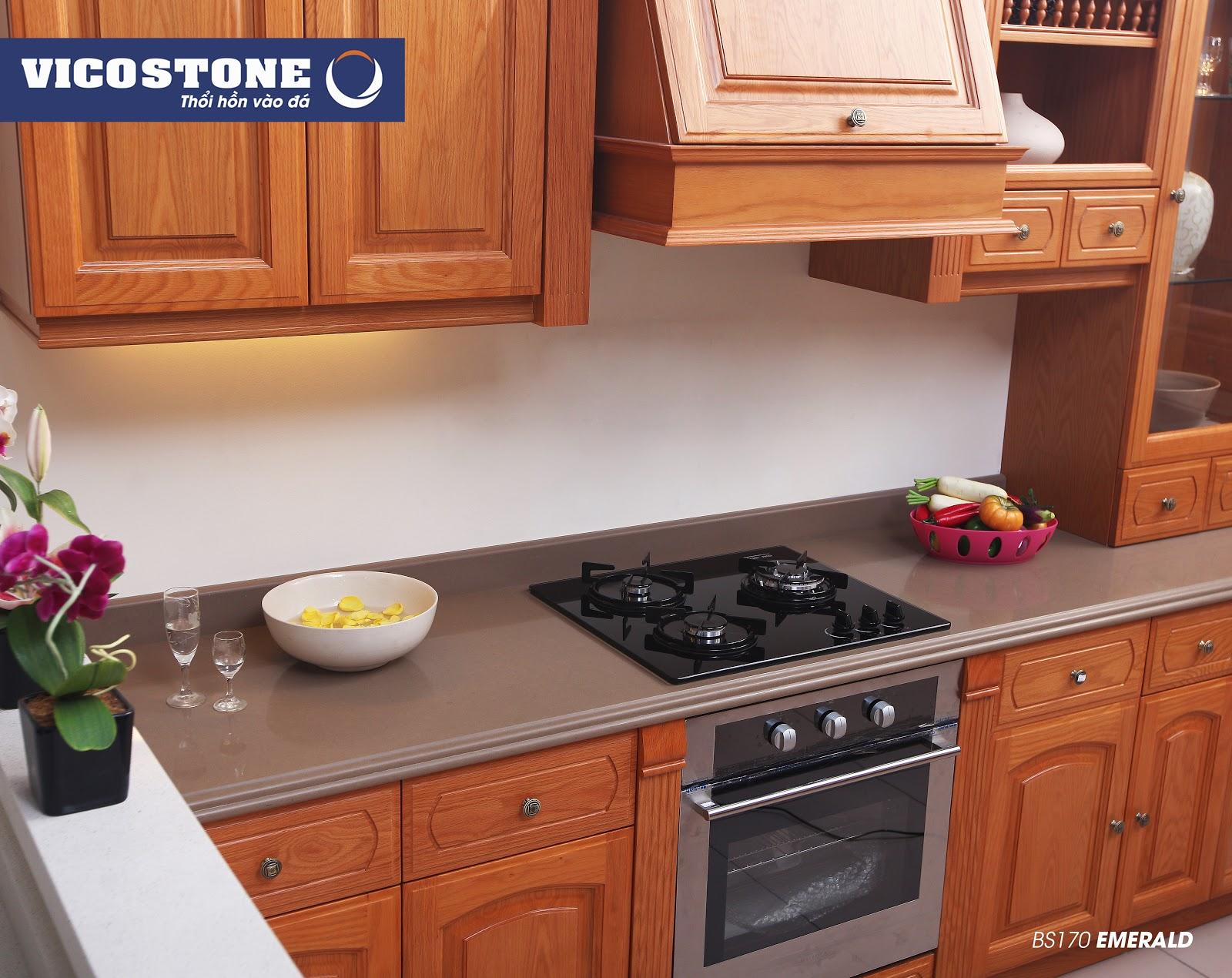 Nên chọn sản phẩm đá bàn bếp chất lượng để sử dụng được lâu dài